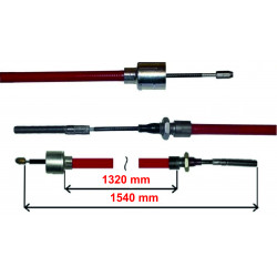 Cablu frana AL-KO 1320/1540