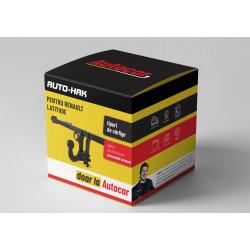 Cârlig de remorcare pentru Renault Latitude 4uşi, - sistem detașabil automat- din 10.2010/-