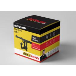 Cârlig de remorcare pentru Fiat Doblo platformă - sistem demontabil automat din 08.2011/-