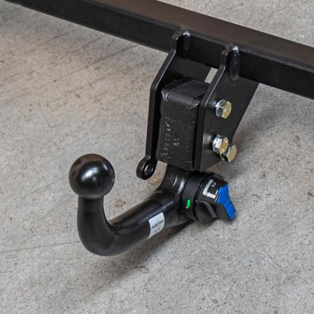 Carlig de remorcare pentru OCTAVIA SCOUT - scout (1 Z 3, 1 Z 5) - sistem demontabil vertical cu cheie - din 2004