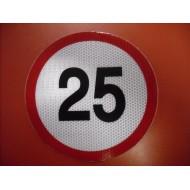 Limitare viteză 25KM/H