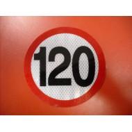 Limitare viteză 120km/hod - mică