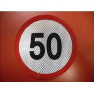 Limitare viteză 50km/h - mică