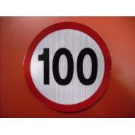 Limitare viteză 100km/h mică