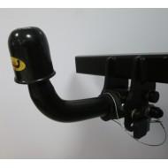 Cârlig de remorcare pentru HILUX - 4 WD (N25) cu treaptă - sistem fix - din 2005